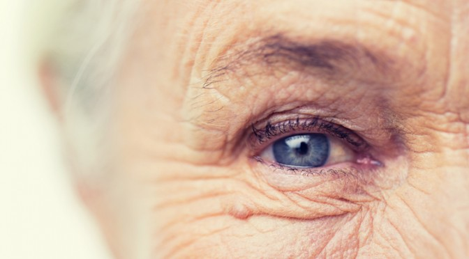 eye old person